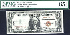 1935 A, $1 Fr2300Pc Small Size Silver - Hawaii Pmg-65 Epq