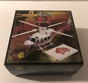 Code 3 Collectibles - Chicago Bell 412 Helicopter #12605 - New but open box