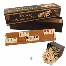 Star Deluxe Holz Rummy Okey Set