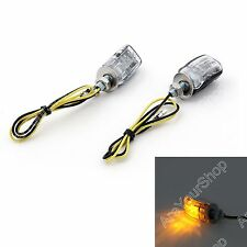 LED Black Micro Mini Tiny Small Indicators Turn Signals Motorcycle MotorBike BS1