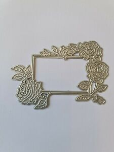 Pretty Rose Frame Die Cutter  Lightly Used