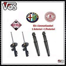 KIT 4 AMMORTIZZATORI PER ALFA ROMEO 147 1.9 JTD 1.9 JTD 16V 1.6 16V TWIN SPARK