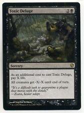 TOXIC DELUGE MTG MAGIC THE GATHERING COMMANDER 2013 SET RARE CARD