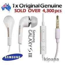 GENUINE Handsfree Headphone Earphone for Samsung Galaxy S6/S5/S3/S4/Note/Note2