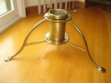 Vintage 50's Quik-Ezy Metal Tree Holder, Christmas Stand, Foldable, Torpedo Base