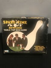 Vintage 1967 Lakeside SPARE-TIME BOWLING Table Top Dice Game Free Shipping!