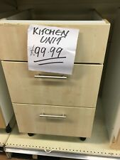 Fitted Kitchen draw pack 3 draw