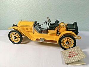Franklin Mint 1:24 Scale 1915 Stutz Bearcat Diecast Metal Car - Cool - READ