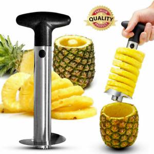 Premium Fruit Pineapple Corer Slicer Peeler Cutter Parer Stainless Kitchen Tool