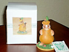 """Halloween Charming Tails """"Chauncey's Pear Costume"""" Figurine - Dean Griff"""