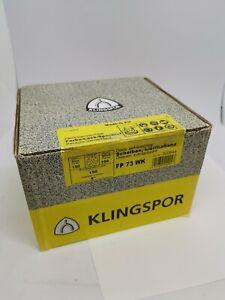 Klingspor Abrasive disc velcro back 150mm GLS47, grit 150, pack of 100 FP73WK