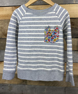 Mini Boden Girls Pullover Sweat Shirt Size 7-8 Years Sequin Embellishment