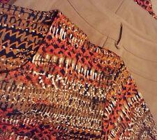 Rafaella Womens Medium Brown Casual Pants 5 Pocket Stretch Petite 10P 30x29