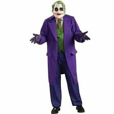 Adult Batman Dark Knight Joker Mask Deluxe Costume Dress Ru888632