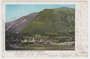 Ansichtskarte Österreich  Gruss aus Grossgmain bei Bad Reichenhall  1901