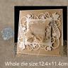 Vine Frame Metal Cutting Dies Stencil Scrapbook Embossing Album Decor Craft DIY