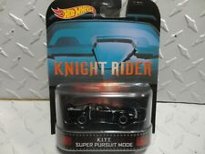 Hot Wheels Retro Entertainment Knight Rider K.I.T.T. Super Pursuit Mode w/RR's