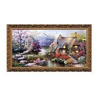 Cross Stitch DIY Handmade Needlework Set Embroidery Kit Precise Printed L1G8