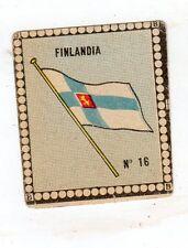 CALCIO  Figurina Stadio ed .BEA 1948-49  BANDIERA  FINLANDIA  NR 16