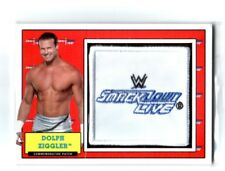 WWE Dolph Ziggler 2017 Topps Heritage SD Com Patch Relic Card SN 266 of 299
