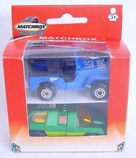 Matchbox Superfast 1:64 US MAIL JEEP & PLANET SCOUT Rare Gift Set MIB`75 RARE!