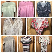 Woman's size large clothing lot 10 items