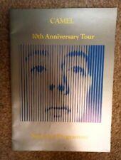 CAMEL 10th Anniversary Tour Programme UK TOUR 1982 A Single Factor V. Good cond.