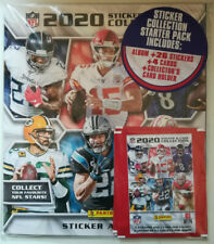 Panini Official 2020 NFL Collection Album Starter Pack + 26 Stickers & 4 Cards