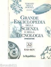 GRANDE ENCICLOPEDIA DELLA SCIENZA E DELLA TECNOLOGIA - N.32 - DE AGOSTINI - 1997