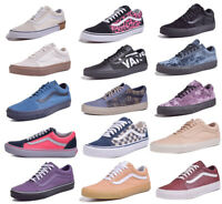 Vans Old Skool Mens/Womens Low Top Skateboard Shoes Choose Color & Size