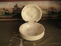 Royal China Co. Majestic Vintage Dessert Dishes Set of Five 5