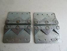 vintage slotted metal cleats for wood-soled bike shoes