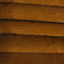 "1/6 yd VIS1 Redhead INTERCAL 6mm ""Flat"" Med. Dense German Viscose Fur Fabric"