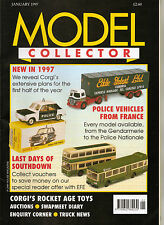 MODEL COLLECTOR Magazine Jan 1997 EFE Southdown Corgi Triang Spot-On Herpa Ferry