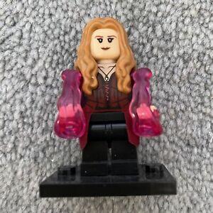 Marvel Wanda Maximoff Scarlet Witch Lego Minifigure