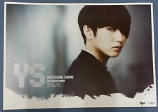 HEO YOUNG SAENG (SS501) Solo (2nd Mini)OFFICIAL POSTER *HARD TUBE CASE* UNFOLD
