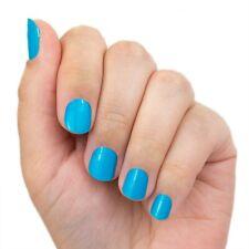 "Color Street Nail Polish Strips ""Blue Dapest"" NEON!"