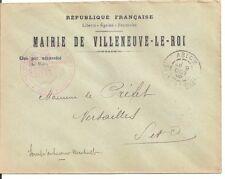 LETTRE,COVER,LSC;Seine et Oise;VILLENEUVE LE ROI;ABLON;9/10/1905,Franchise