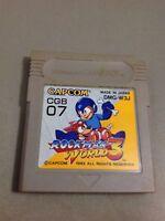 S79 ROCKMAN WORLD 3 Megaman 3 Gameboy Nintendo GB Japan