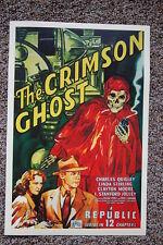 The Crimson Ghost Lobby Card Movie Poster