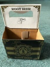 KISS Gene Simmons MONEY BAGS Root Beer 4 pack display box