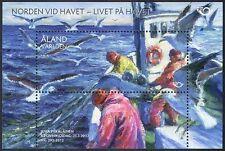 Aland 2012 Fishermen/Fishing Boat/Gulls/Birds/Business/Commerce 1v m/s (n41595)