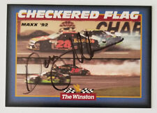 DAVEY ALLISON **AUTOGRAPHED** 1992 THE WINSTON ALL STAR WIN TRADING CARD #2