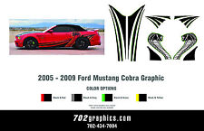 2005 - 2009 Ford Mustang Cobra Graphic