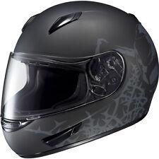 HJC CL-15 Crypt Adult Street Motorcycle Helmet Matte Black Grey Gray XSmall XS