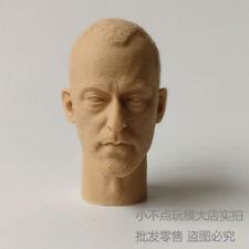 "blank 1/6 scale Head Sculpt JEAN RENO Leon The Professional unpainted for 12"" AU"