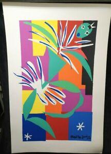 La Danseuse Creole 1950 by Henri Matisse, Silkscreen ,Oversize Print