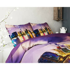 HOUSSE DE COUETTE City Lights + 1 TAIE -140x200 cm