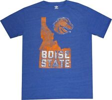 Vintage Royal NCAA Boise State Broncos Tri Blend Short Sleeve Tee X-Large