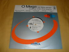 O Mega Feat. Adrian Johnson ‎– Come Into The Party  45 RPM 12'' Single